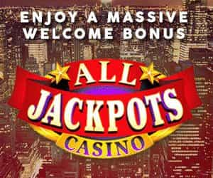 All Jackpots - 1600 welcome offer